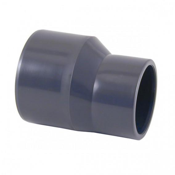 Reducción cónica excéntrica PVC encolar