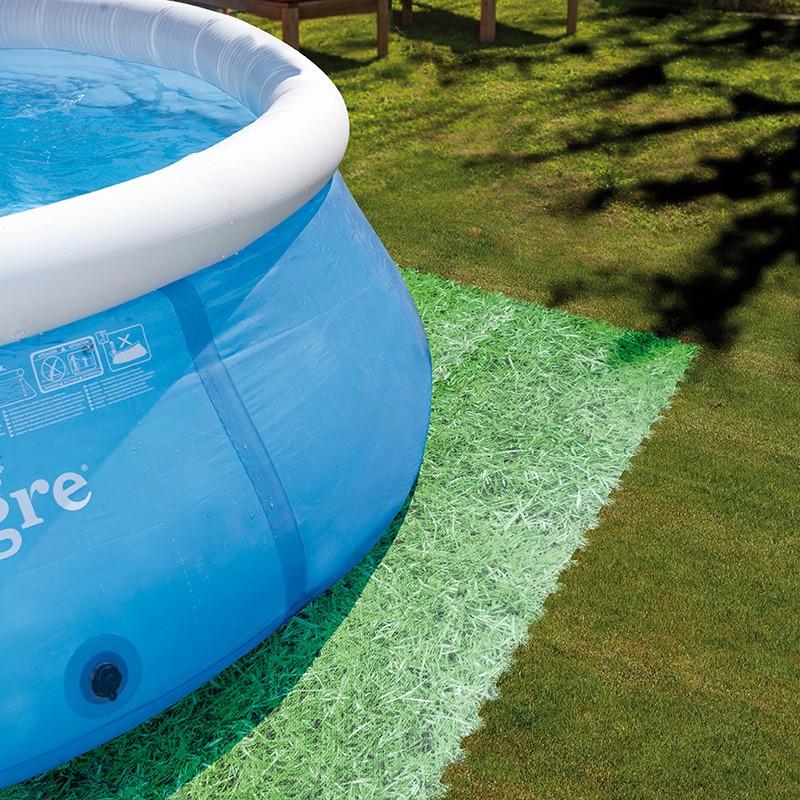 Protector fondo piscina imitaci n hierba gre mpf509gr for Protector suelo piscina