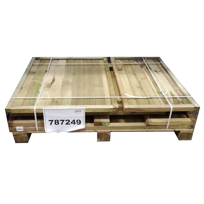 Caseta local t cnico de madera gre poolaria for Casetas de madera baratas para jardin brico depot