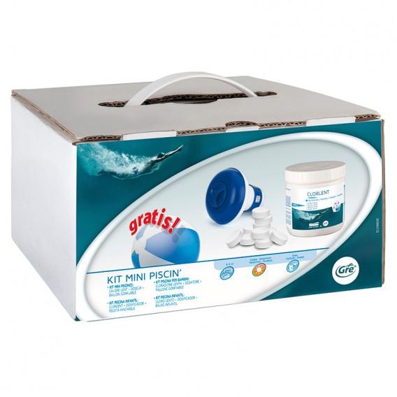 Kit tratamiento para piscina Gre de 0 a 5 m³