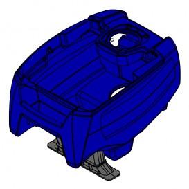 Cuerpo completo azul Zodiac TornaX RT R0766300