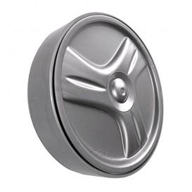 Llanta rueda pequeña trasera Zodiac Vortex OV gris R0636102