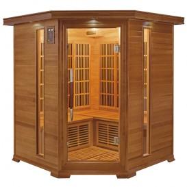 Sauna infrarrojos Luxe rinconera 3-4 personas