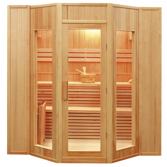 Sauna tradicional de vapor Zen 5 personas