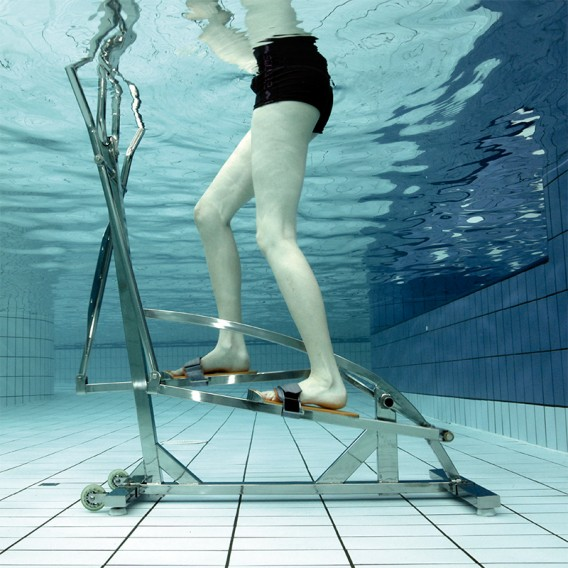 Bicicleta acuática elíptica Elly Waterflex