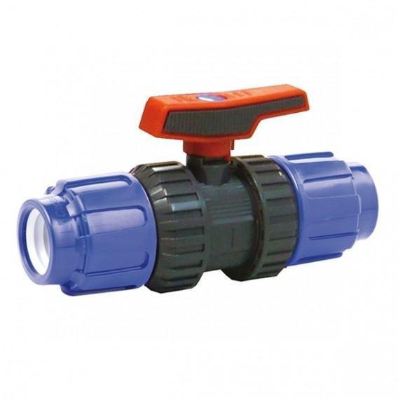 Válvula de bola [STD] PVC-U PE x PE