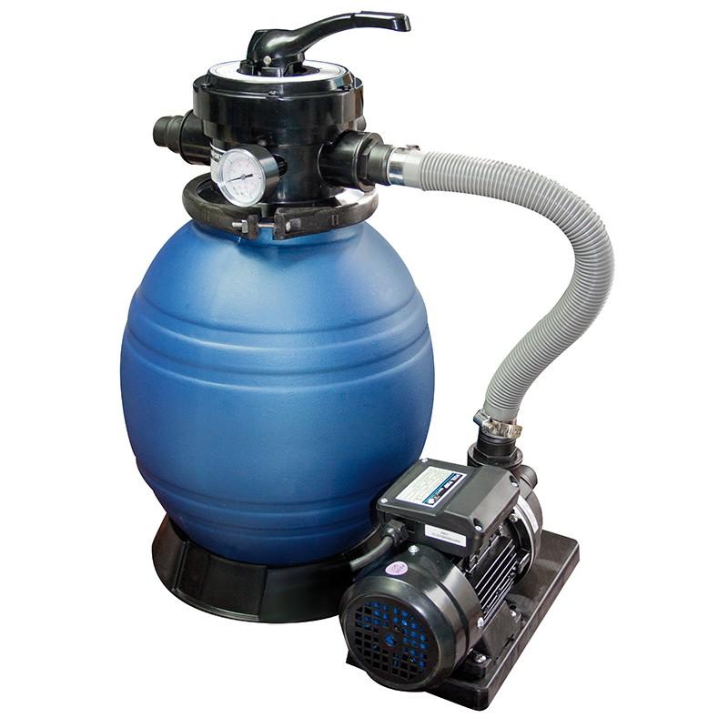 Filtro monobloc qp depuradora con bomba poolaria for Piscinas desmontables pequenas con depuradora