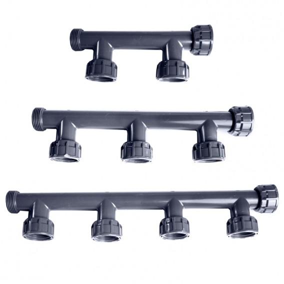 Colectores PVC para electroválvulas