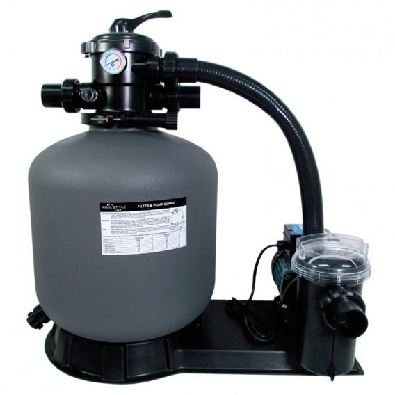 Kit de filtración PoolStyle depuradora con bomba