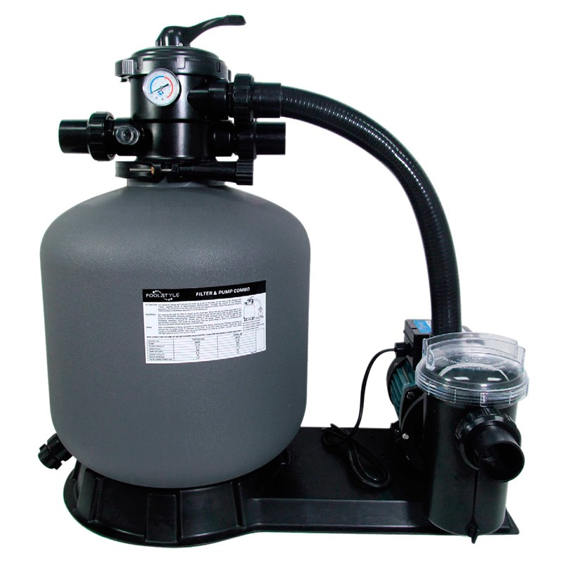 Kit de filtraci n poolstyle depuradora con bomba poolaria for Piscinas desmontables pequenas con depuradora