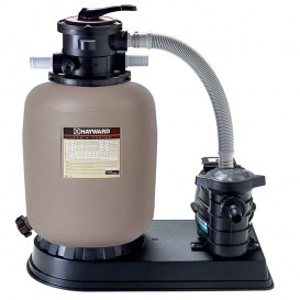 Kit de filtración piscina Hayward depuradora con bomba
