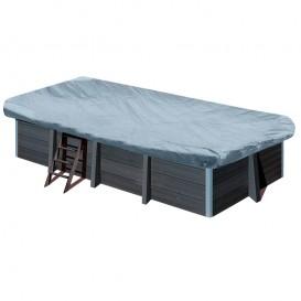 Cubierta de invierno piscina composite Gre rectangular