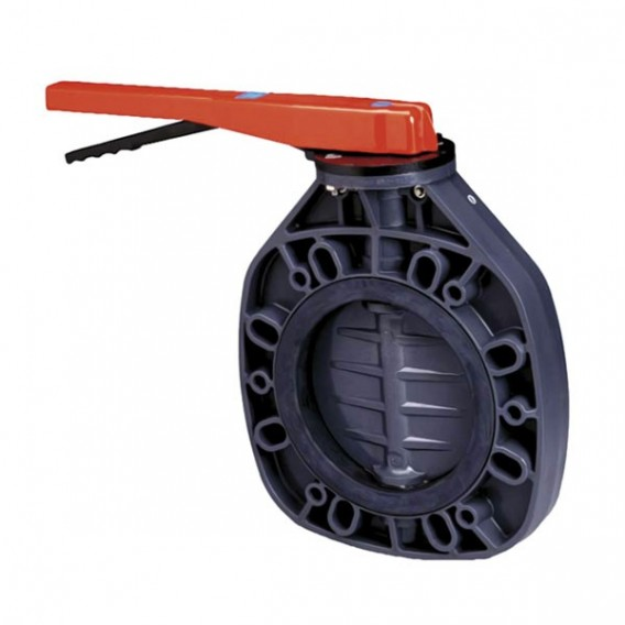 Válvula de mariposa Serie Classic PVC-U eje inox FPM