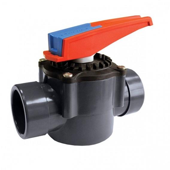 Válvula de compuerta rotatoria 2 vías encolar
