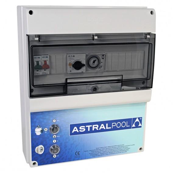 Armario maniobra 1 bomba y control iluminación transf. 600W AstralPool