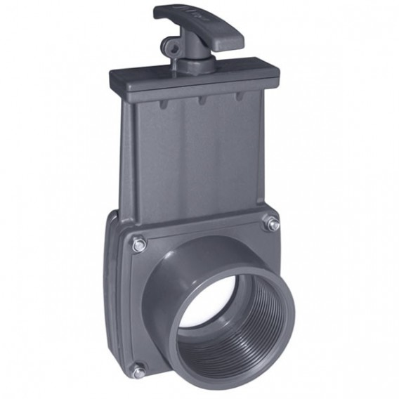 "Válvula de guillotina roscar hembra 1½"" x roscar hembra 1½"""