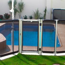 Módulo de 5 m con puerta para valla piscinas Flash N