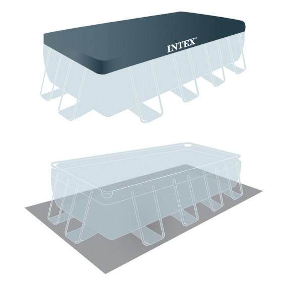 Cobertor y tapiz de suelo piscina Intex Prisma Frame 26778NP