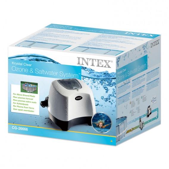 Embalaje clorador salino y ozono Intex 26666