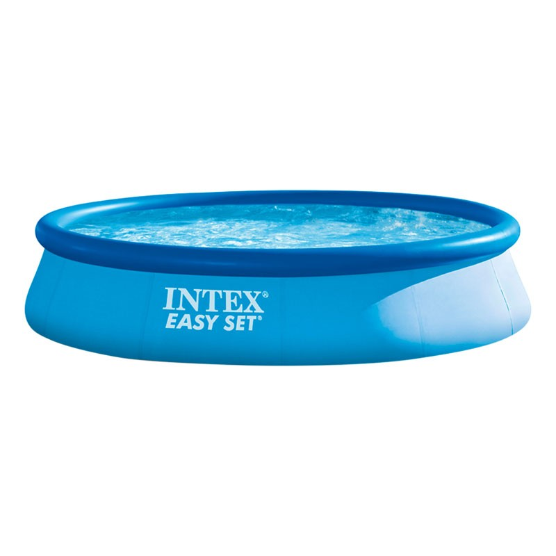 Piscina intex easy set 396x84 con depuradora 28142np for Piscina pequena desmontable con depuradora