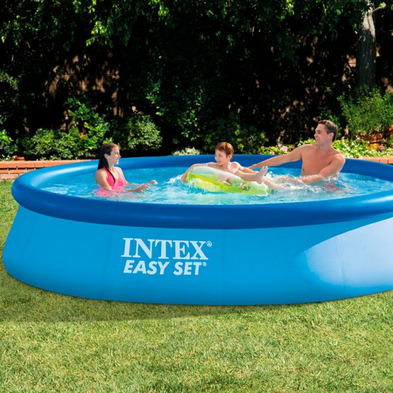 Piscina Intex Easy Set 396x84 28142NP