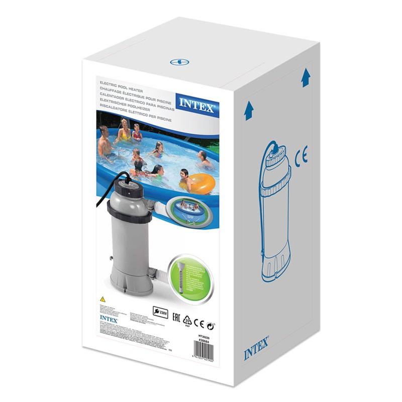 Calentador el ctrico de agua intex piscinas desmontables for Accesorios piscinas intex