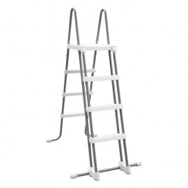 Escalera Intex 122 cm con plataforma 28076
