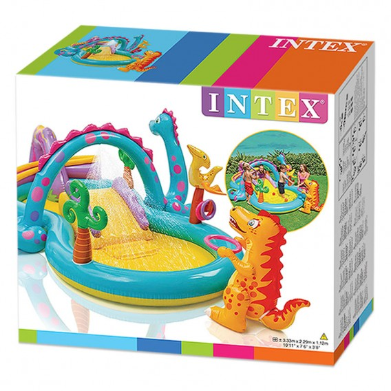 Centro de juegos dinosaurio intex hinchable 57135np poolaria - Intex hinchables ...