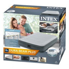 Cama hinchable Intex Comfort-Plush Dura Beam individual 67768