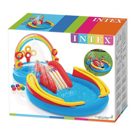 Centro de juegos arco iris intex hinchable 57453np poolaria - Intex hinchables ...