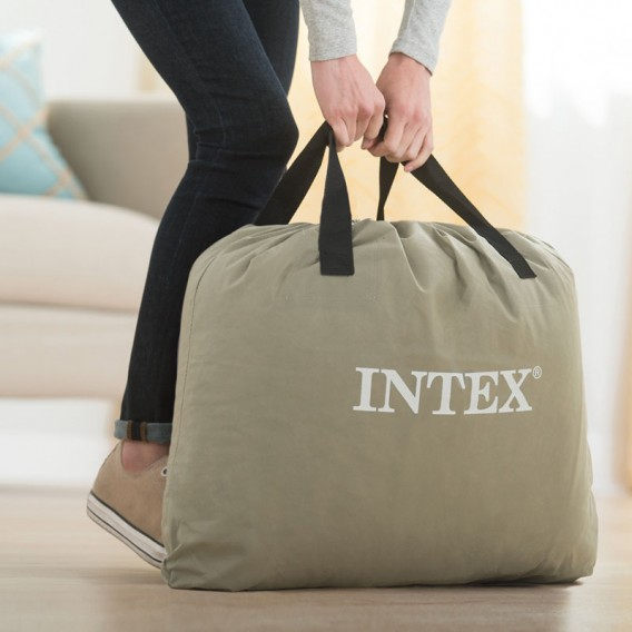 Cama hinchable individual Intex Deluxe Pillow Rest Raised 64132