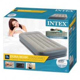 Colchón hinchable Intex Pillow Rest Mid-Rise individual 64116