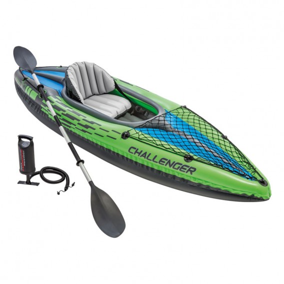 Kayak canoa hinchable Intex Challenger K1 68305NP