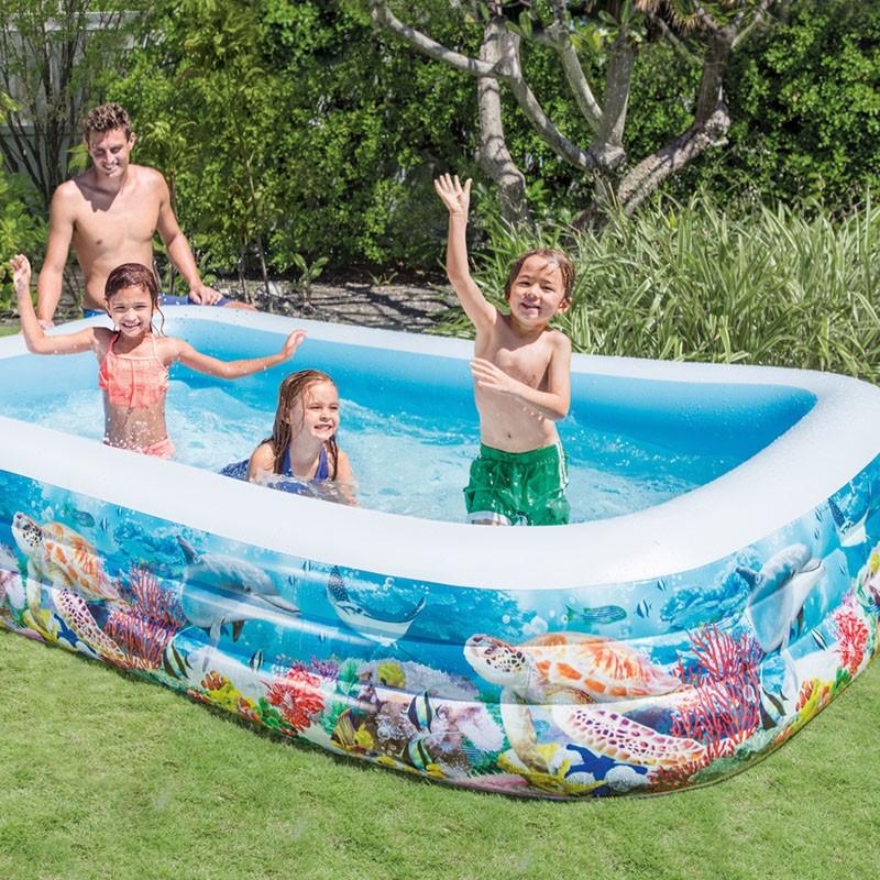 piscina hinchable tropical intex 305x183x56 58485np poolaria