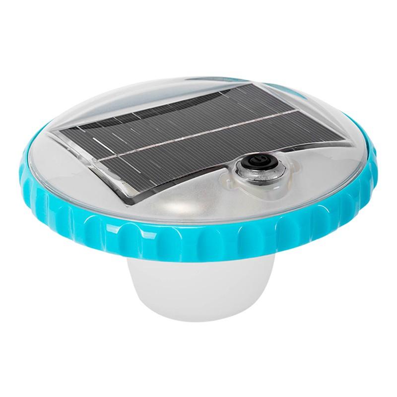 Luz led flotante solar intex para piscinas 28695 poolaria for Accesorios piscinas intex
