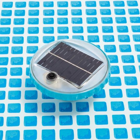 Luz LED flotante solar Intex para piscinas 28695