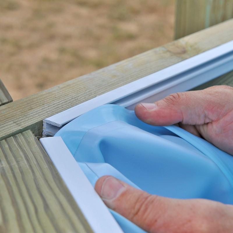 Liner para piscinas de madera sunbay poolaria for Liner para piscinas desmontables