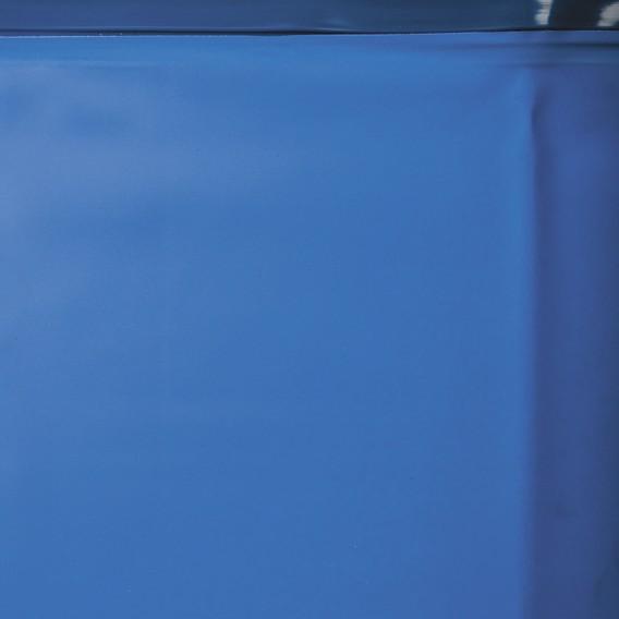 Liner azul piscina de madera Sunbay