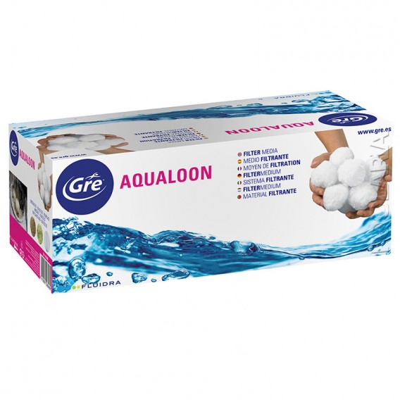 Aqualoon medio filtrante piscina 700g Gre AQ700