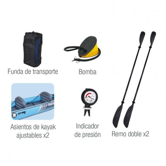 Accesorios kayak Zray Roatan