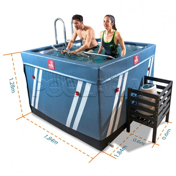 Dimensiones Waterflex Fit's Pool