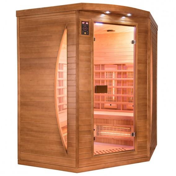Sauna infrarrojos Spectra rinconera 3 personas