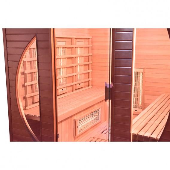 Sauna infrarrojos Spectra 4 personas