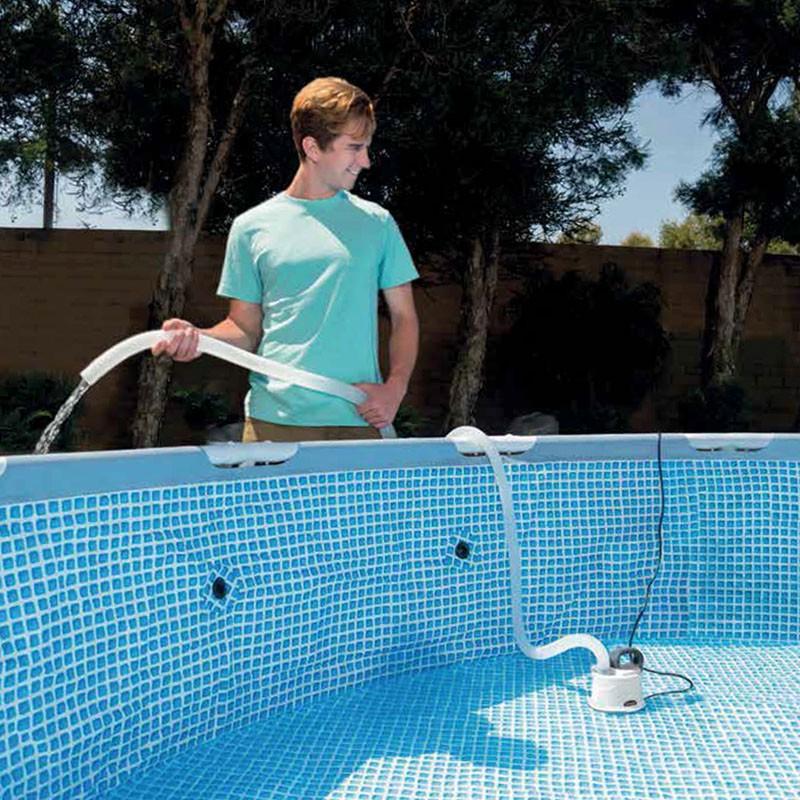 Bomba de vaciado de piscinas intex 28606 poolaria for Vaciado de piscina