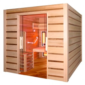Sauna Combi Access para movilidad reducida