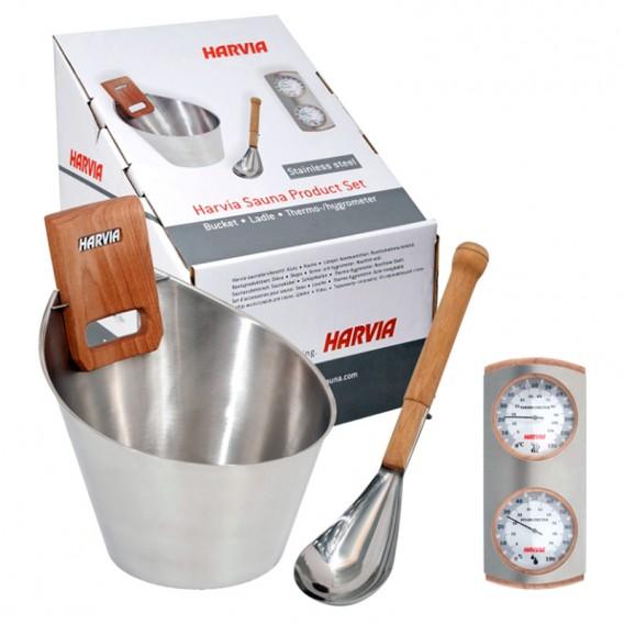 Kit Harvia de accesorios para sauna