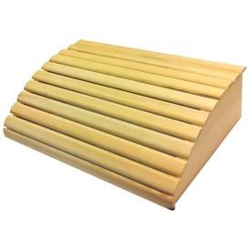 Reposacabezas sauna de madera