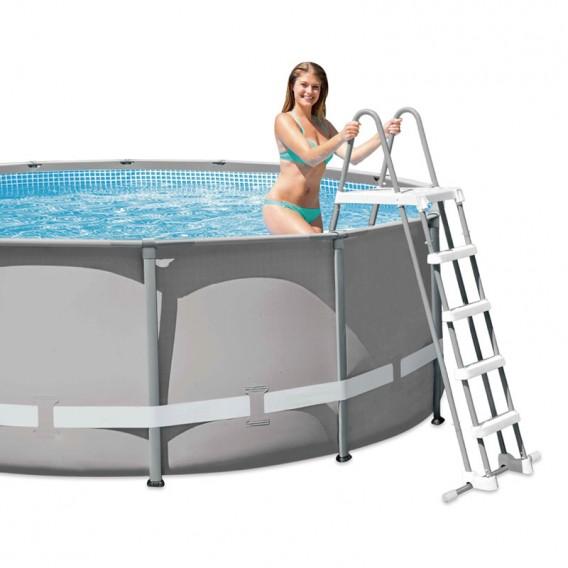 Escalera piscina desmontable Intex 132 cm 28077