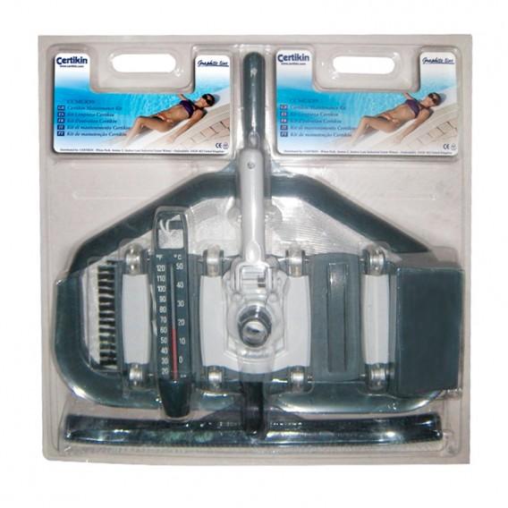 Kit limpieza piscina Graphite CTX