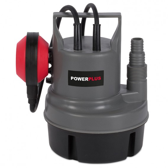 Bomba de succión sumergible 200W aguas limpias Powerplus POWEW67900